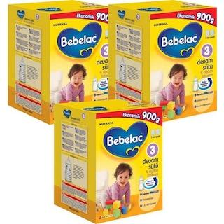Bebelac 3 Numara 900 Gr Devam Sütü 3 Lü Paket