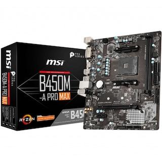 MSI B450M-A PRO MAX DDR4 3466Mhz S+VGA+GLAN AM4