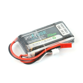 7.4 V 2S Lipo Batarya-Pil 1350 mAh 25C