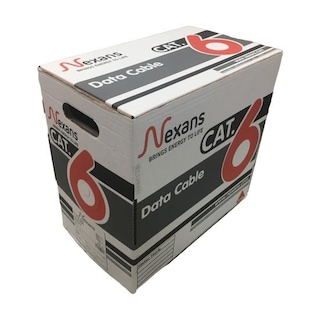 Nexans Cat6 Halogen Free Ethernet Kablosu 23 AWG 305 Metre