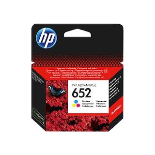 HP 652 Color Renkli Kartuş F6V24AE