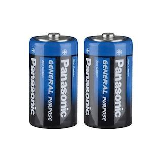 Panasonic C Orta Boy Pil 2'li