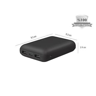 Gomax 10000 mAh Taşınabilir Şarj Cihazı Powerbank Şarj Aleti