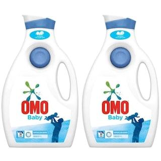 Omo Baby Sıvı Çamaşır Deterjanı 30 Yıkama 2 x 1950 ML