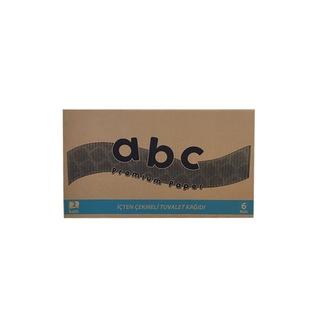 Standart Cimri İçten Çekmeli Tuvalet Kağıdı 6 Rulo 4 KG ABC