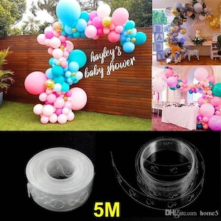 Balon Kemeri Balon Zinciri Aparat 5 Metre Şerit