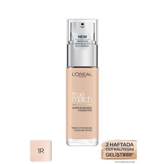 L'Oréal Paris True Match Bakım Yapan Fondöten 1R ROSE IVORY
