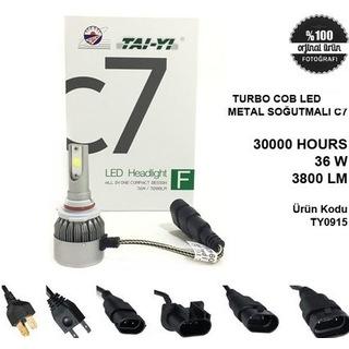 H1 H27 9005 9006 Sarı Beyaz Şimşek Etkili Led Zenon