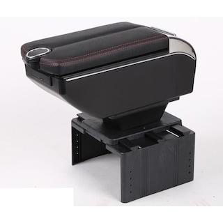 6 USB li Her Araca Uygun Universal Kolçak Kol Dayama Çift Açılır
