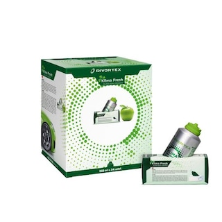 Divortex Klima Fresh  (Klima Bombası) Yeşil Elma 24 x 150 ml