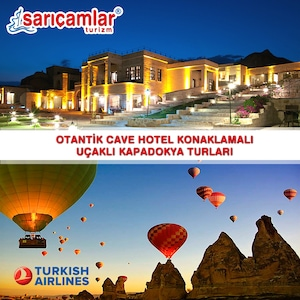 MDC Cave Hotel Konaklamalı Kapadokya Turu