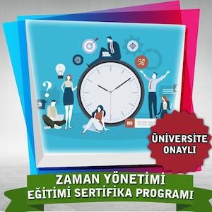 Zaman Yönetimi Egitimi Sertifika Programı