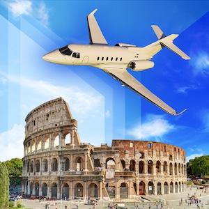 Özel Jet ile İzmir - Roma