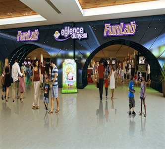 Emaar Mall FunLab Eğlence Dünyası'ında 70 TL'lik Oyun Kredisi 35