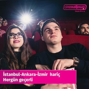 Sinema Bileti - İstanbul-İzmir-Ank Hariç Geçerli (3D-IMAX Hariç)