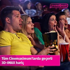 Sinema Bileti - Tüm Türkiye'de Geçerli(3D-IMAX HARİÇ)