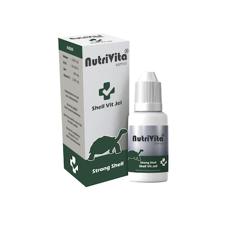 NutriVita Shell Vit Jel Kaplumbağa Kabuk Sağlığı
