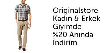 ORIGINALSTORE Kadın & Erkek Giyimde %20 Anında İndirim - n11.com