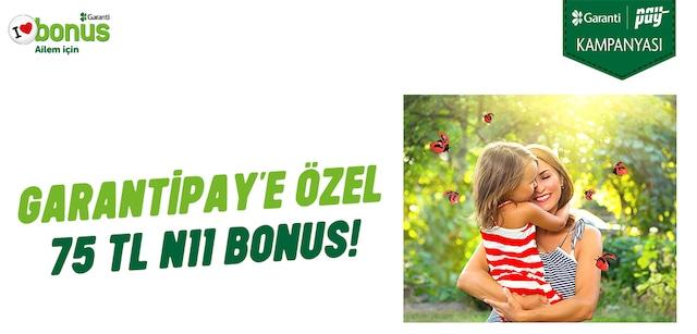 Garanti Bankası - Bonus Kampanyası