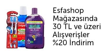 Esfashop Colgate 30 TL ve Üzeri %20 İndirim - n11.com