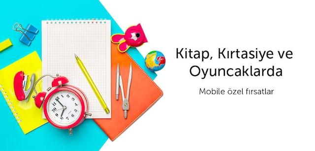Kitap&Kırtasiye&Oyuncaklarda Mobile Özel Fırsatlar