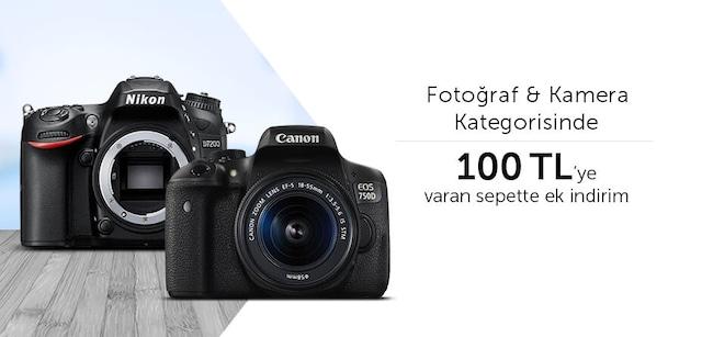 Fotoğraf Makinesi & Kamera - 75 TL Anında İndirim