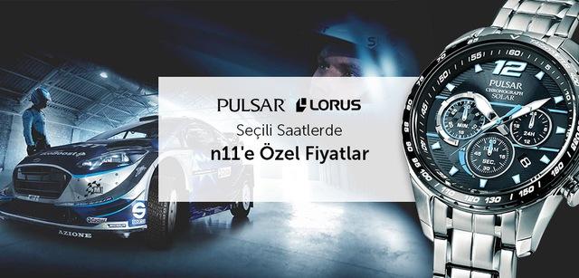 Pulsar ve Lorus Saatlerde %80'e Varan İndirimler - n11.com