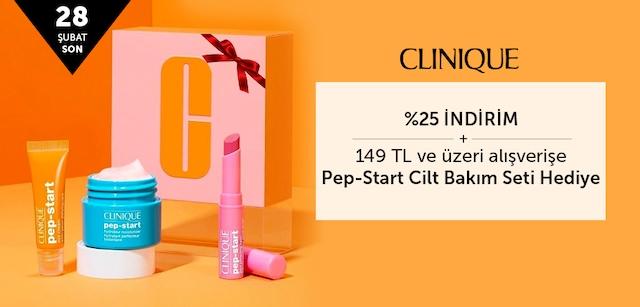 CLINIQUE- Tüm Ürünlerde %25 İndirim + Hediye Fırsatı - n11.com