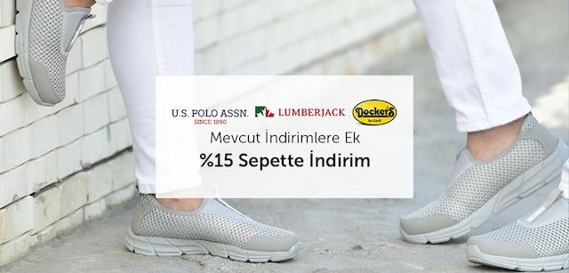 U.S. Polo Dockers Scooter Lumberjack Sepette %15 Ek İndirim - n11.com