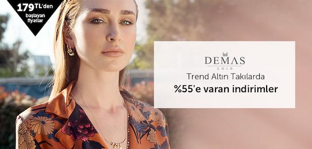Demasgold Altın Takılarda %55'e Varan İndirimler - n11.com