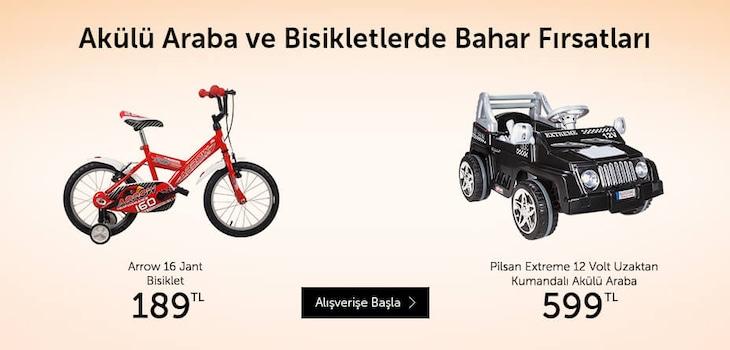 Akülü Araba ve Bisikletler