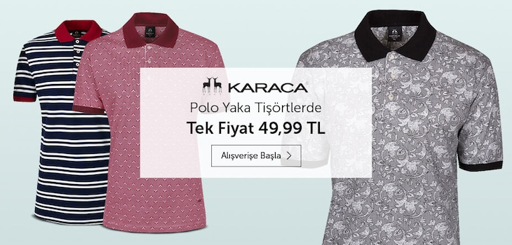 Karaca Polo Yaka Tişörtler