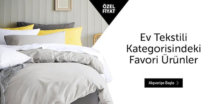 Ev Tekstilinde Favori Ürünler