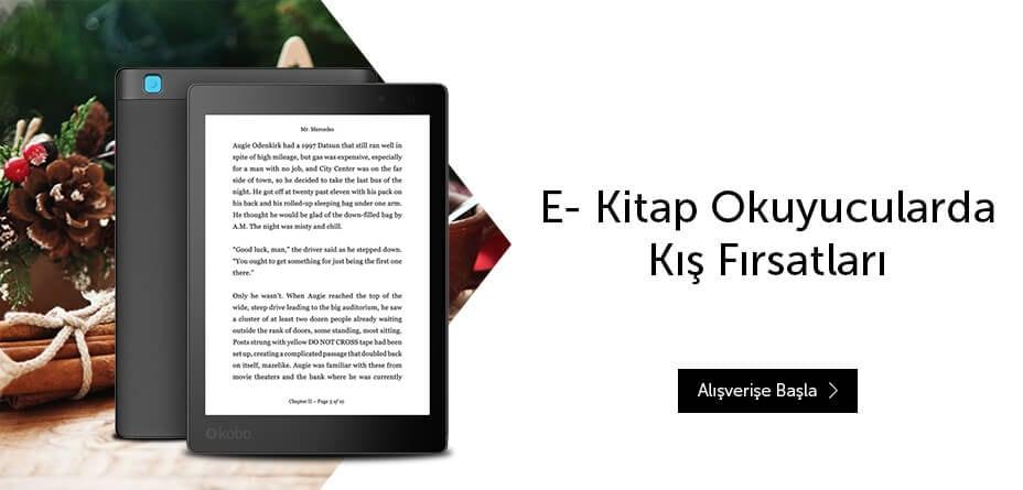 E- Kitap Okuyucularda Özel Fiyatlar