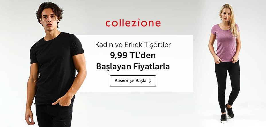 collezione tişörtlerde fırsat