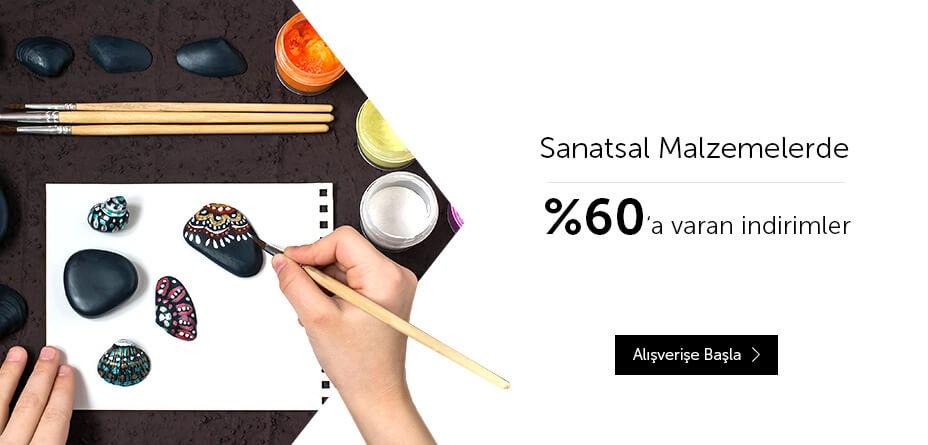 Sanatsal Malzemeler %60