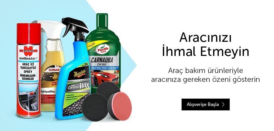 araç bakım ürünleri