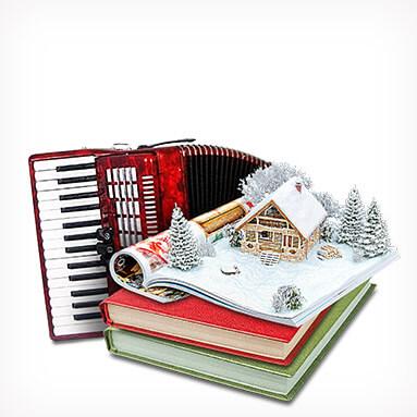 Oyuncak & Kitap & Müzik