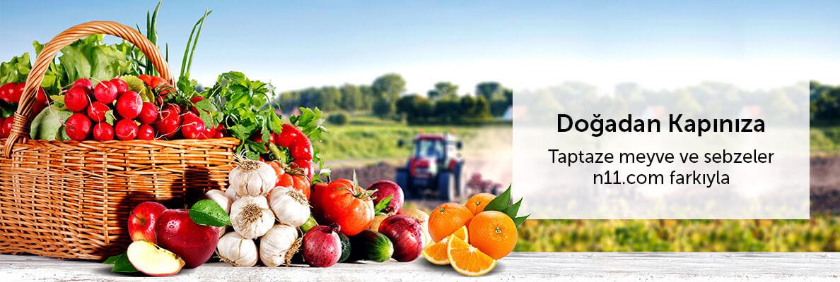 Taze Meyve & Sebzeler - Doğadan Kapınıza