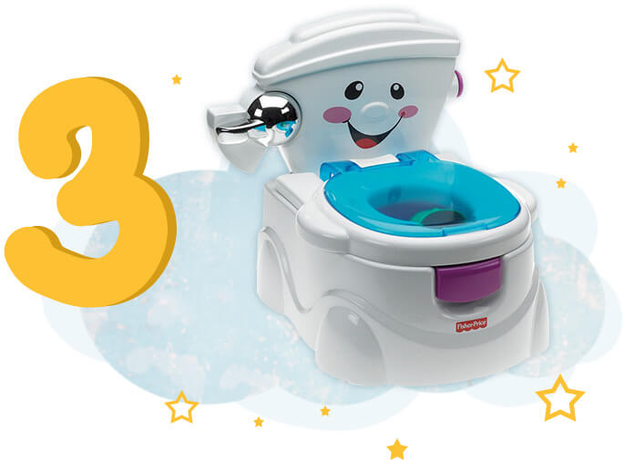 Fisher-Price Eğlenceli Tuvalet