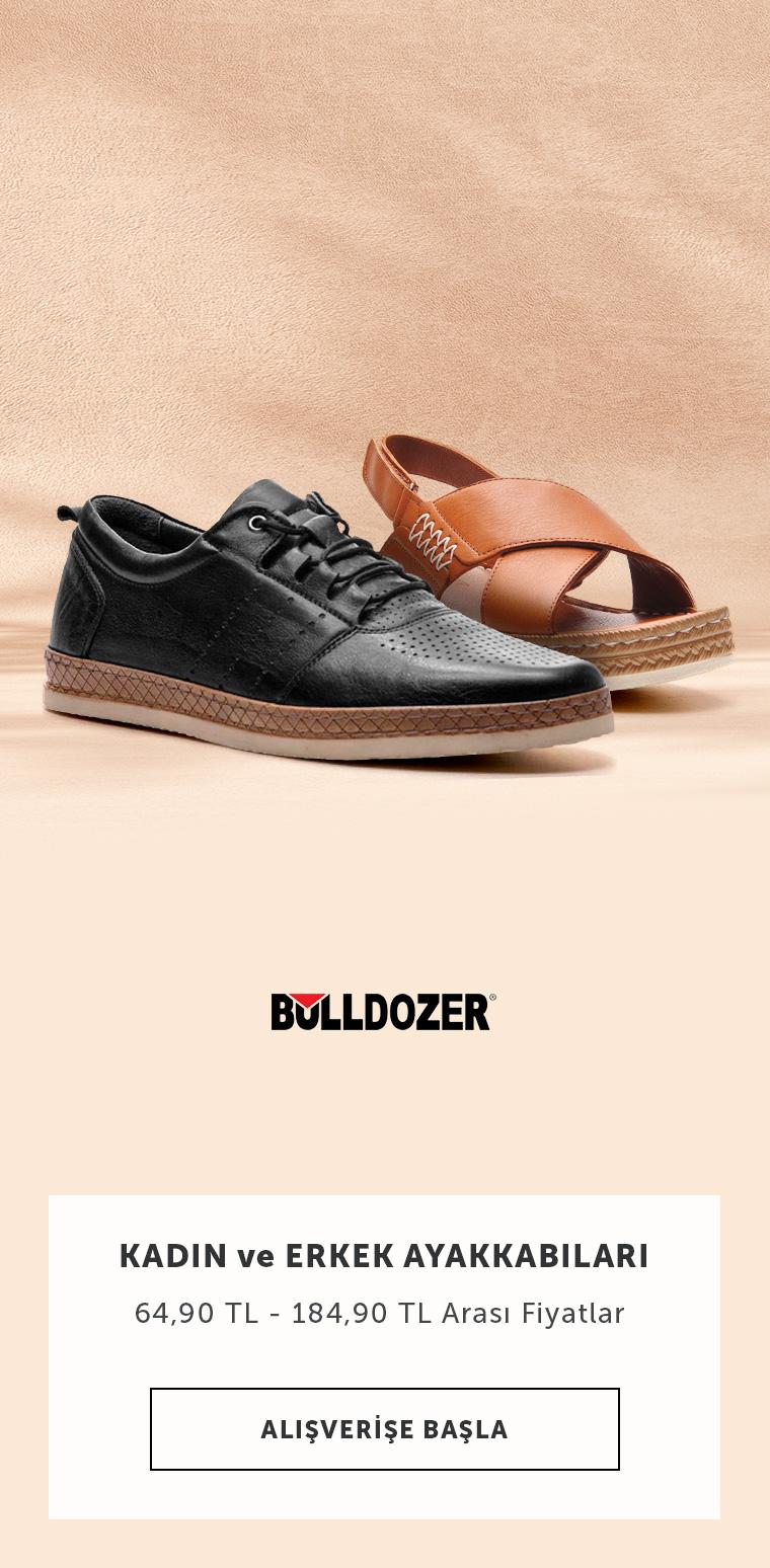 Bulldozer Ayakkabılarda İndirim