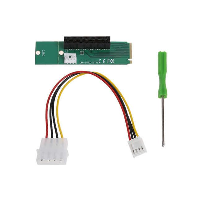 M2 pci 1x çevirici m2 riser m2 ekran kartı bağlantı aparatı m.2 1