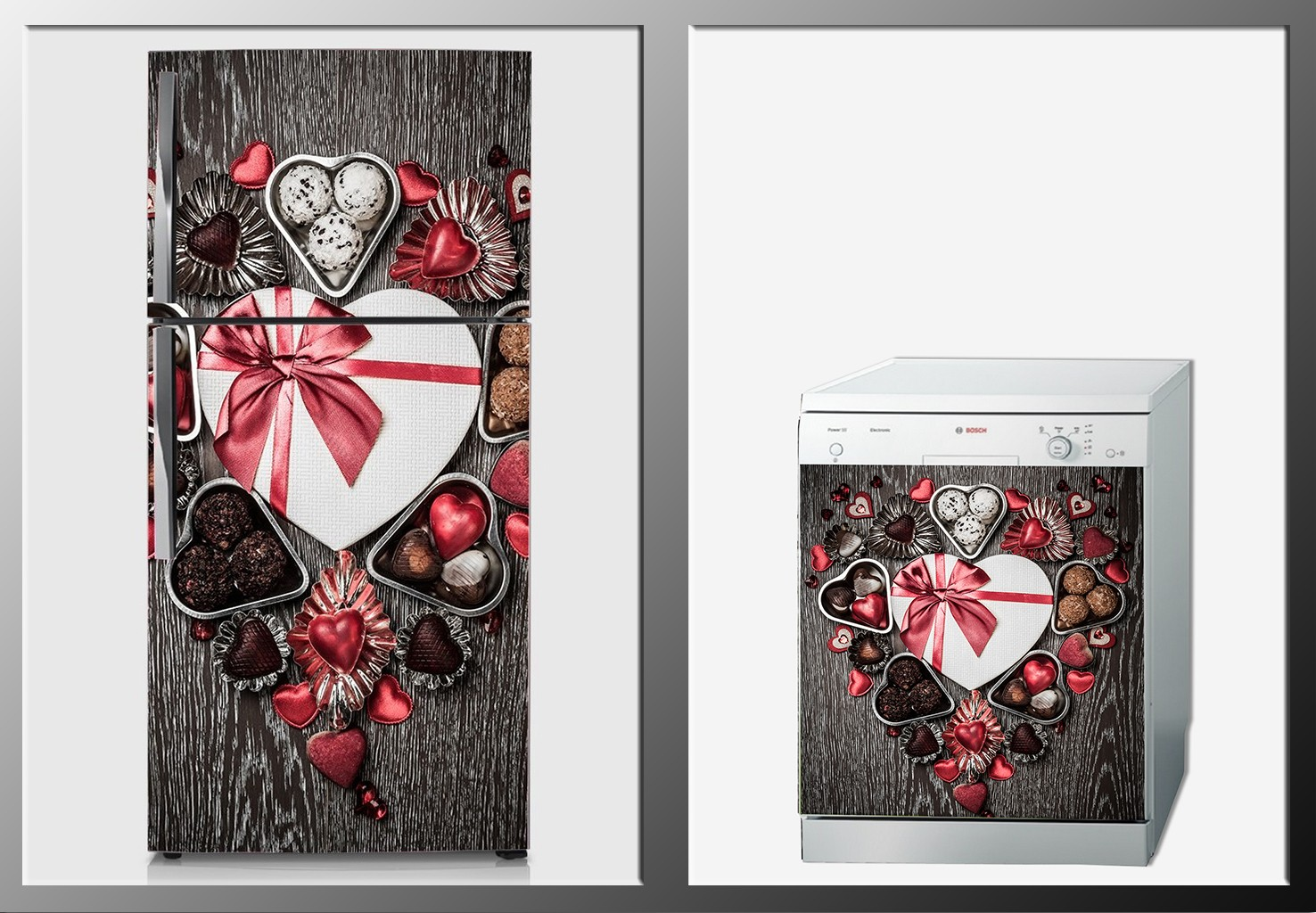 ArtWall Beyaz Eşya Aşk Sticker