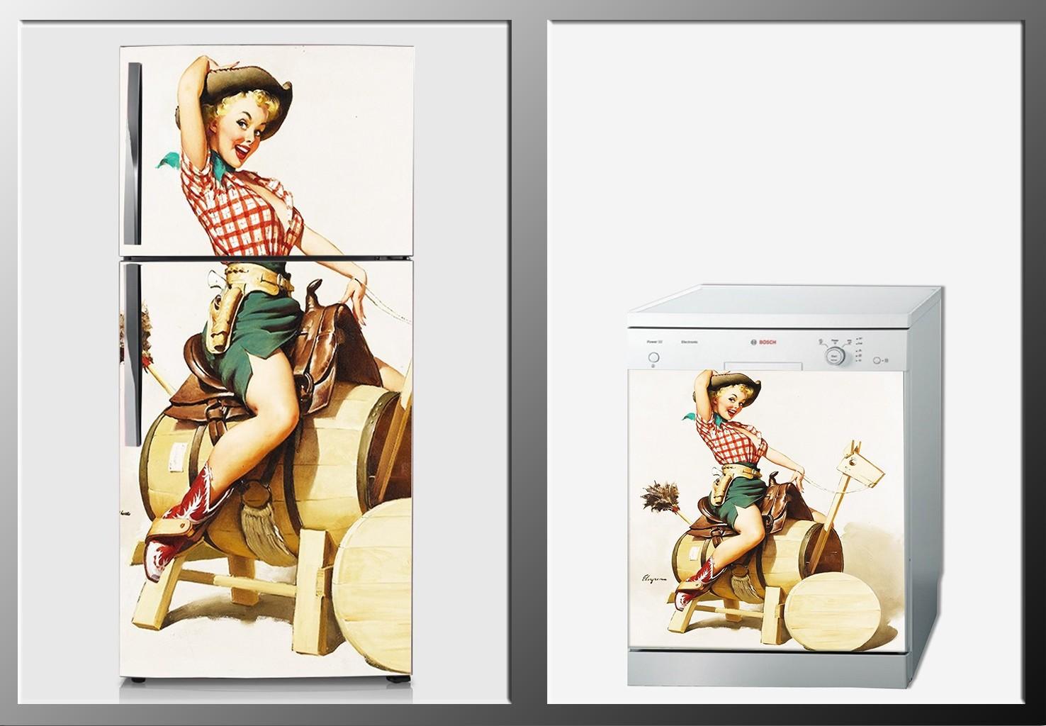 ArtWall Beyaz Eşya Sanat Sticker