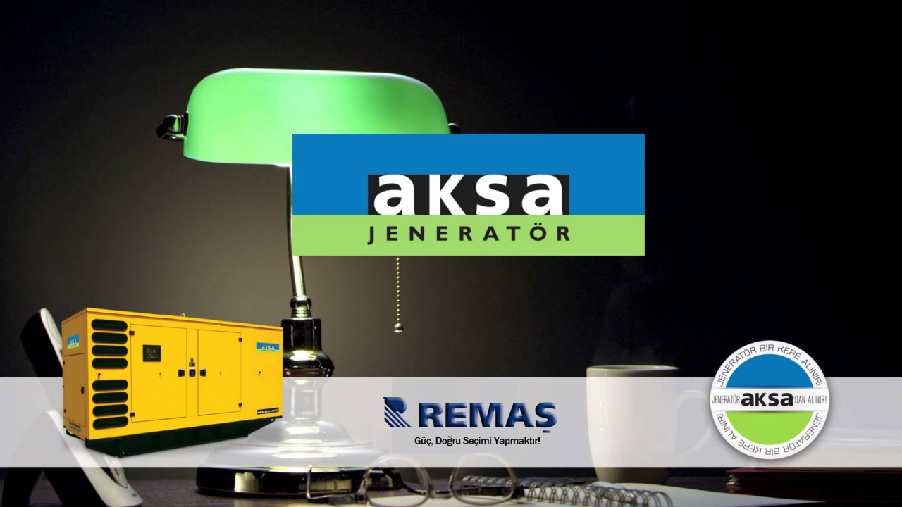 Générateur d'essence Aksa AAP 3500 - 3,5 kVA - Corde