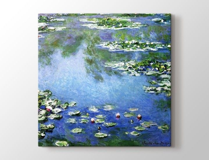 Claude Monet - Nympheas Tablo