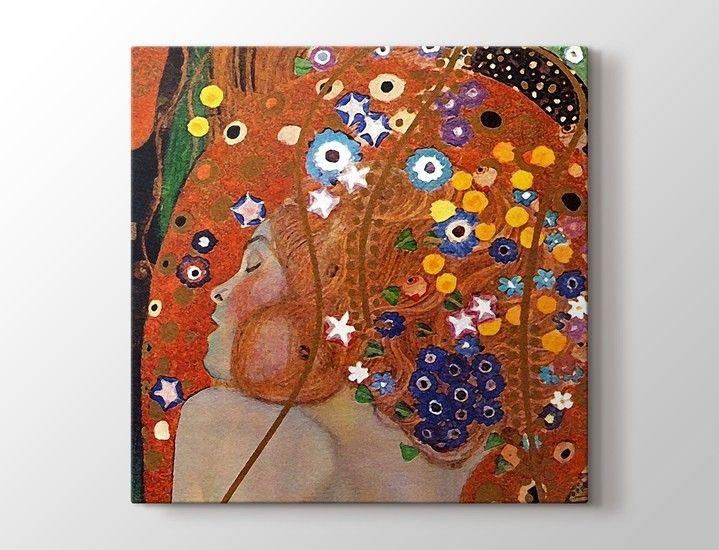 Gustav Klimt - Sea Serpents Tablo