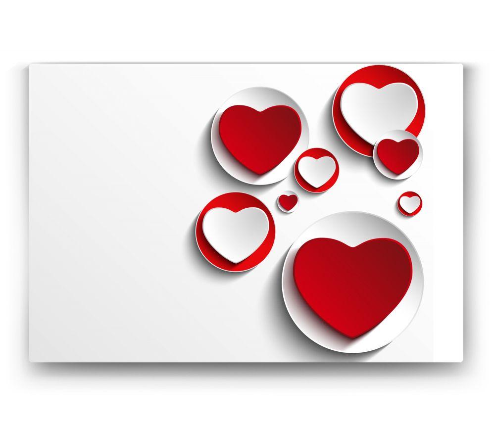 Kırmızı Kalp Tablo