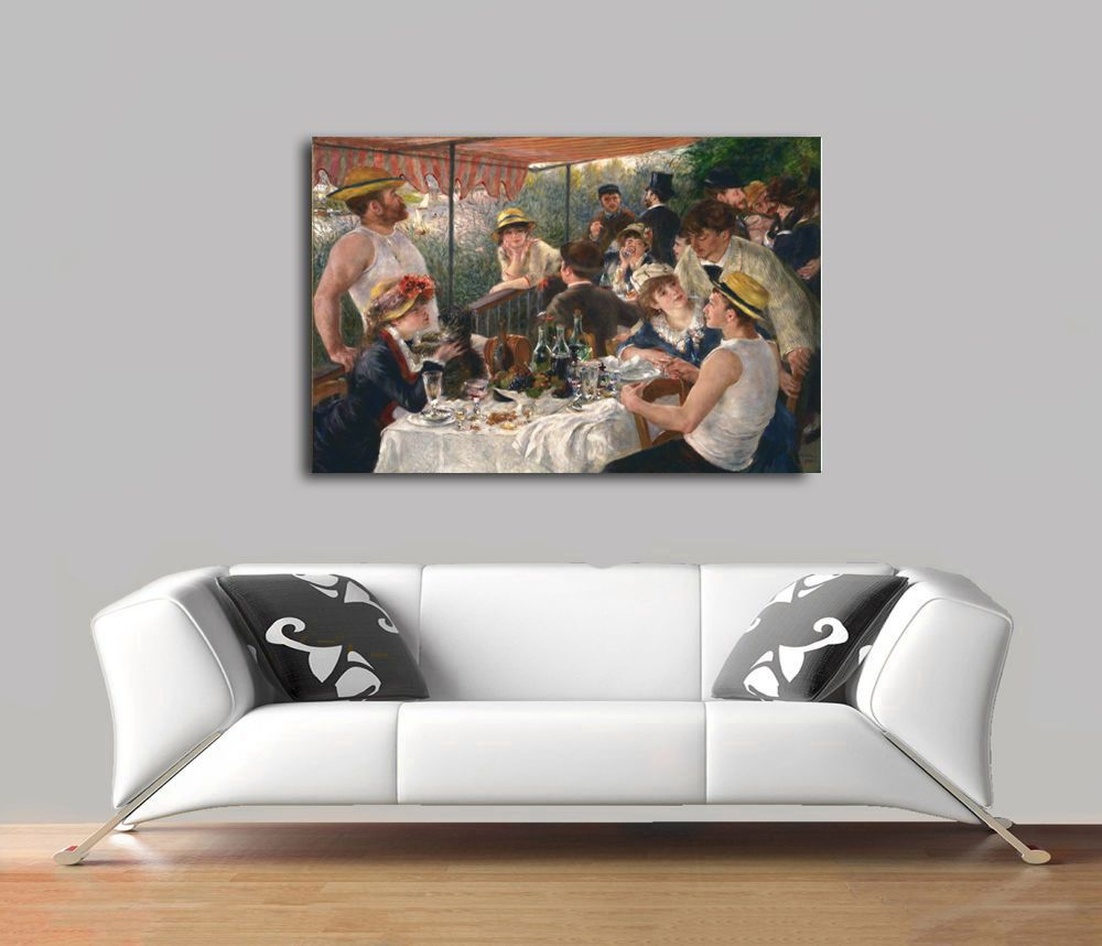 Pierre Auguste Renoir - Luncheon of the Boating Party Tablo