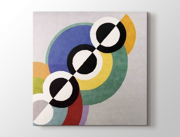 Robert Delaunay - Rythmes Tablo